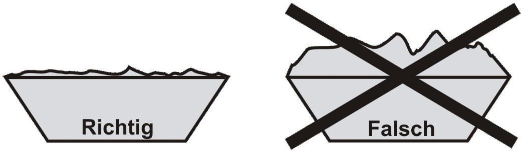 Hinweise für das Beladen von Containern